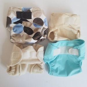 Swaddlebees, Vermont diaper lot of 4
